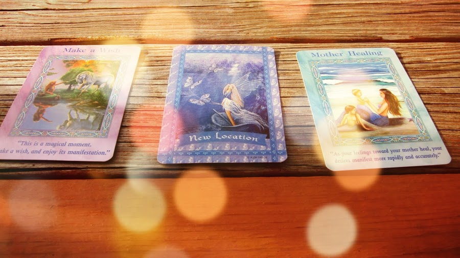 Healing With the Fairies Tarot Cards + Oracle Cards
