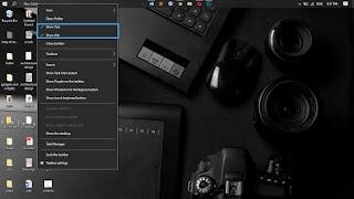 center the windows 10 taskbar icons