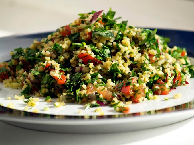 Tabbouleh recipe  - so fresh, simple, delicious and healthy Mediterranean Salad