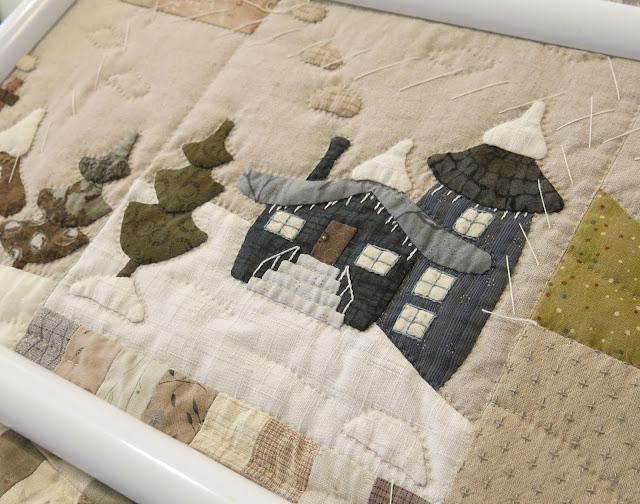 Nina Viret - Projet en cours - Modèle de Quilt My Design