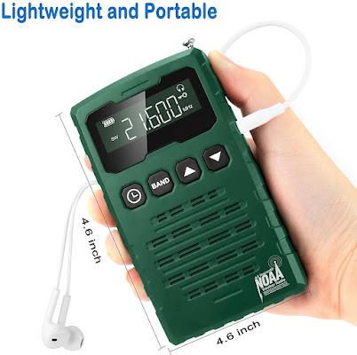 Best Pocket AM FM NOAA Weather Alert Radio
