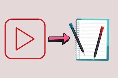 Cara membuat artikel dari video youtube 100% unik
