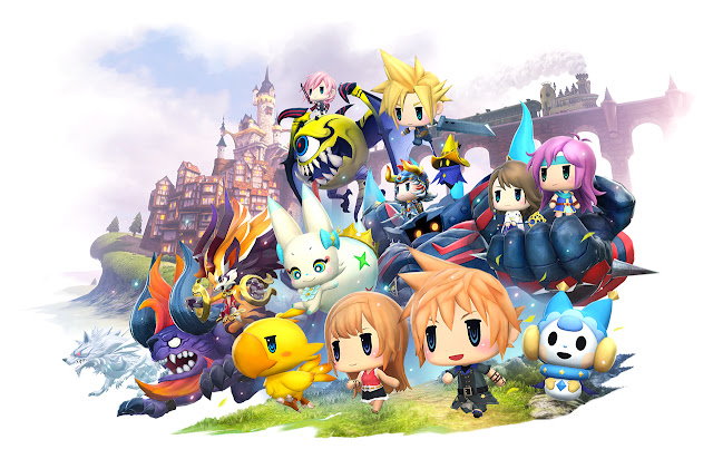 La demo de World Of Final Fantasy ya está disponible para descargar