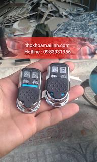 Làm Chìa Khoá Remote Cửa Cuốn tại nhà Tphcm giá rẻ nhất Sài Gòn
