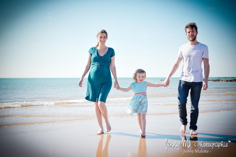 photographe grossesse maternité vairé, givrand, brem sur mer, st gilles croix de vie