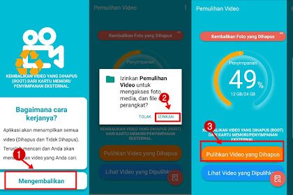 9 Cara Mengembalikan Video Terhapus di Android