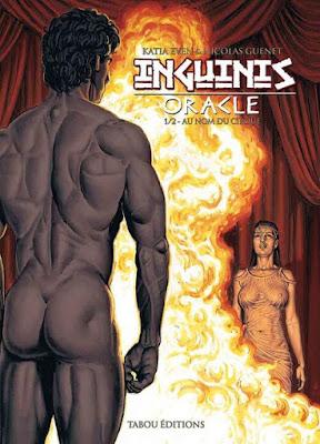 BD - Inguinis Oracle - couverture du tome 1: Au nom du Cirque