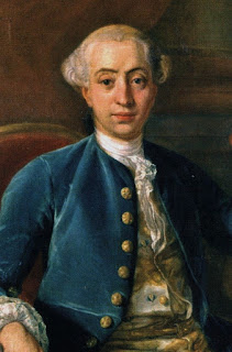Giacomo Casanova, whose mother was  the actress Zanetta Farussi