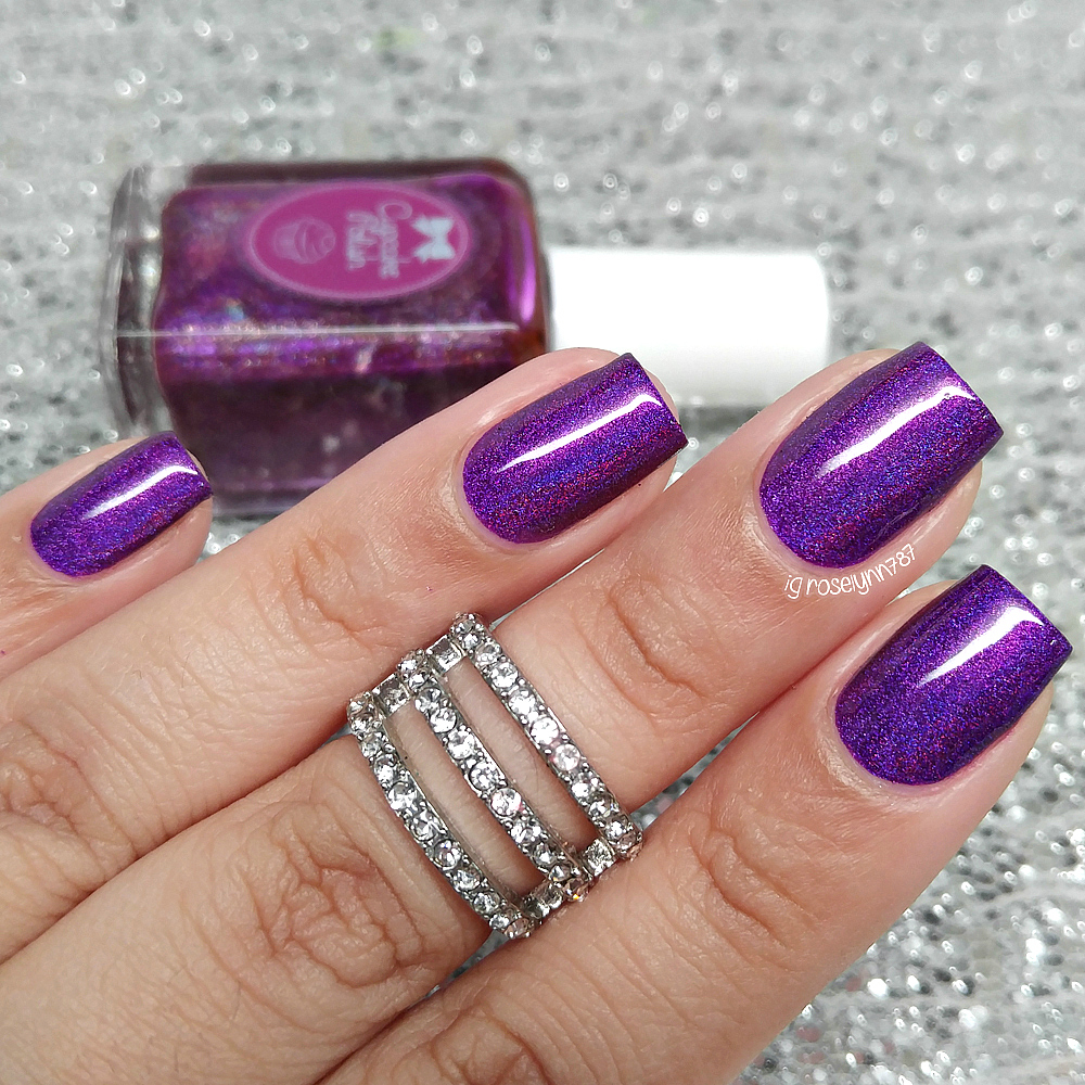 Lady Queen - Platinum Knuckle Nail Art Ring - Manicured & Marvelous