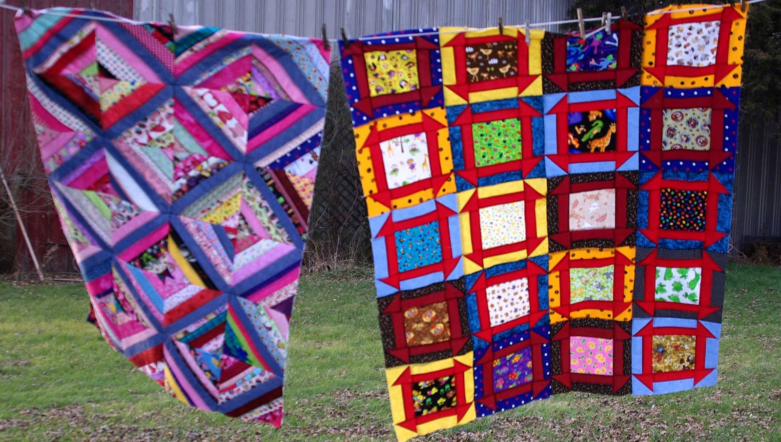 Sane Crazy Crumby Quilting Theres A Hole In The Barn Door And