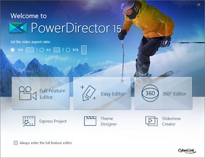 حمل برنامج Power Director PRO 15 مجانا وبشكل قانوني 2018