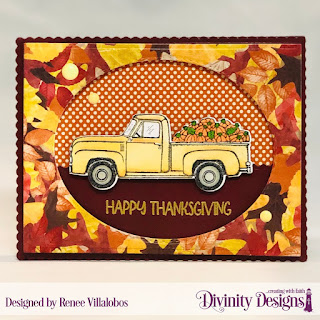 Stamp/Die Duos: Load of Love, Paper Collections: Follow the Son, Fall Favorites, Custom Dies: Stitched Ovals, Scalloped Rectangles