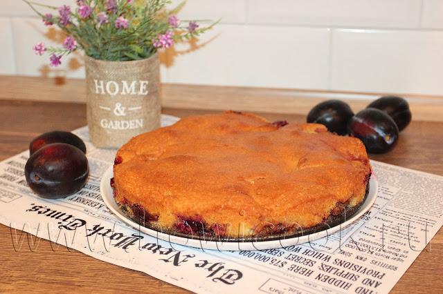рецепт сливового пирога из газеты нью-йорк таймс с пошаговыми фото