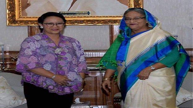 The Muslim world looked at Sheikh Hasina