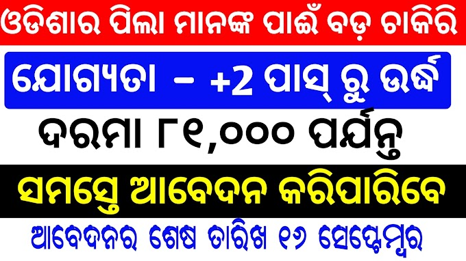 Job in Nuapada district judge office odisha for +2 Pass Students 2019 | Odisha Govt Job