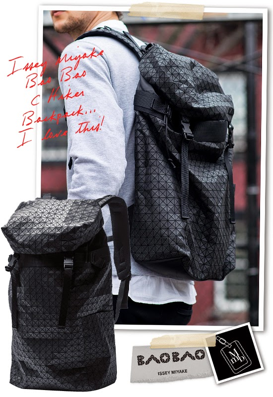0beabe7124 ... Issey Miyake Bao Bao C Series Hiker Backpack if you are looking for  that bag with extra dose of creativity and modern appeal... it s also  lightweight ...