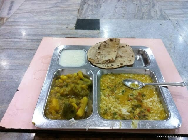 Parmarth Niketan ashram food