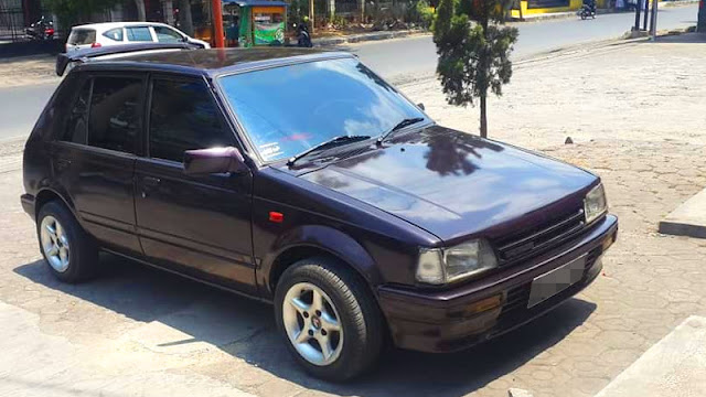 Daihatsu Charade CS facelift