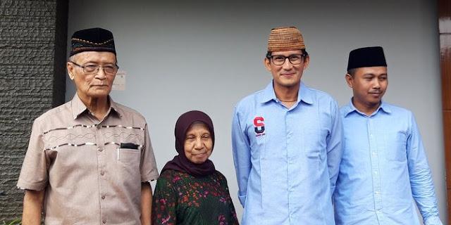 Buya Syafii Pesan Ke Sandi: Jika Terpilih, Jadilah Wapres Rakyat Bukan Partai