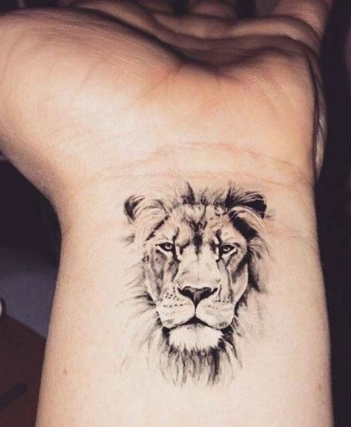 small Tattoos For Men on wrist