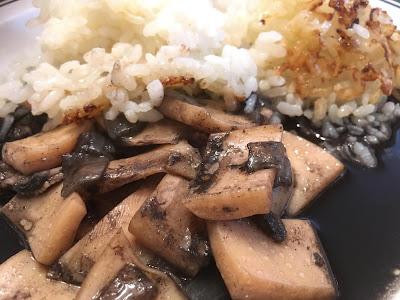 Calamares en su  tinta - Tinta de calamar - Calamares con arroz negro - el gastrónomo - receta - el troblogdita - ÁlvaroGP SEO