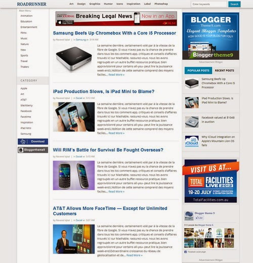 Tons Of Ads On Their Blog 3 Column Template With A Wide Post Area Weve Added 2 Navigation Bar Left Side And Fixed Top