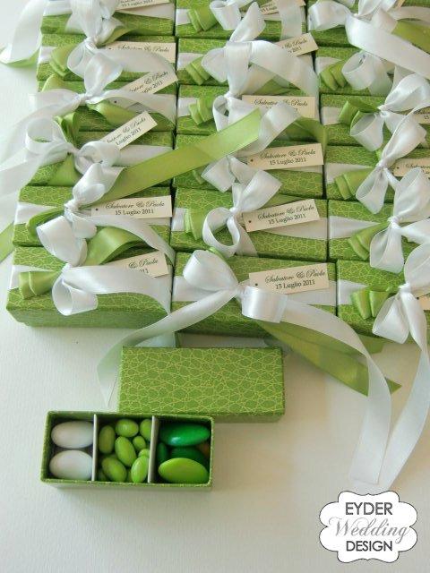 Molto EYDER Wedding DESIGN: Scatole degustazione a scomparti in cartone PL84