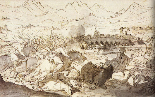"""While Souvaroff, determined to obtain it..."" Suvorov, the three military arts and another Battle at the Trebbia"
