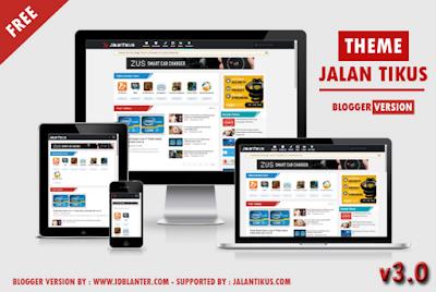 Jalan Tikus V3 Responsive Blogger Template