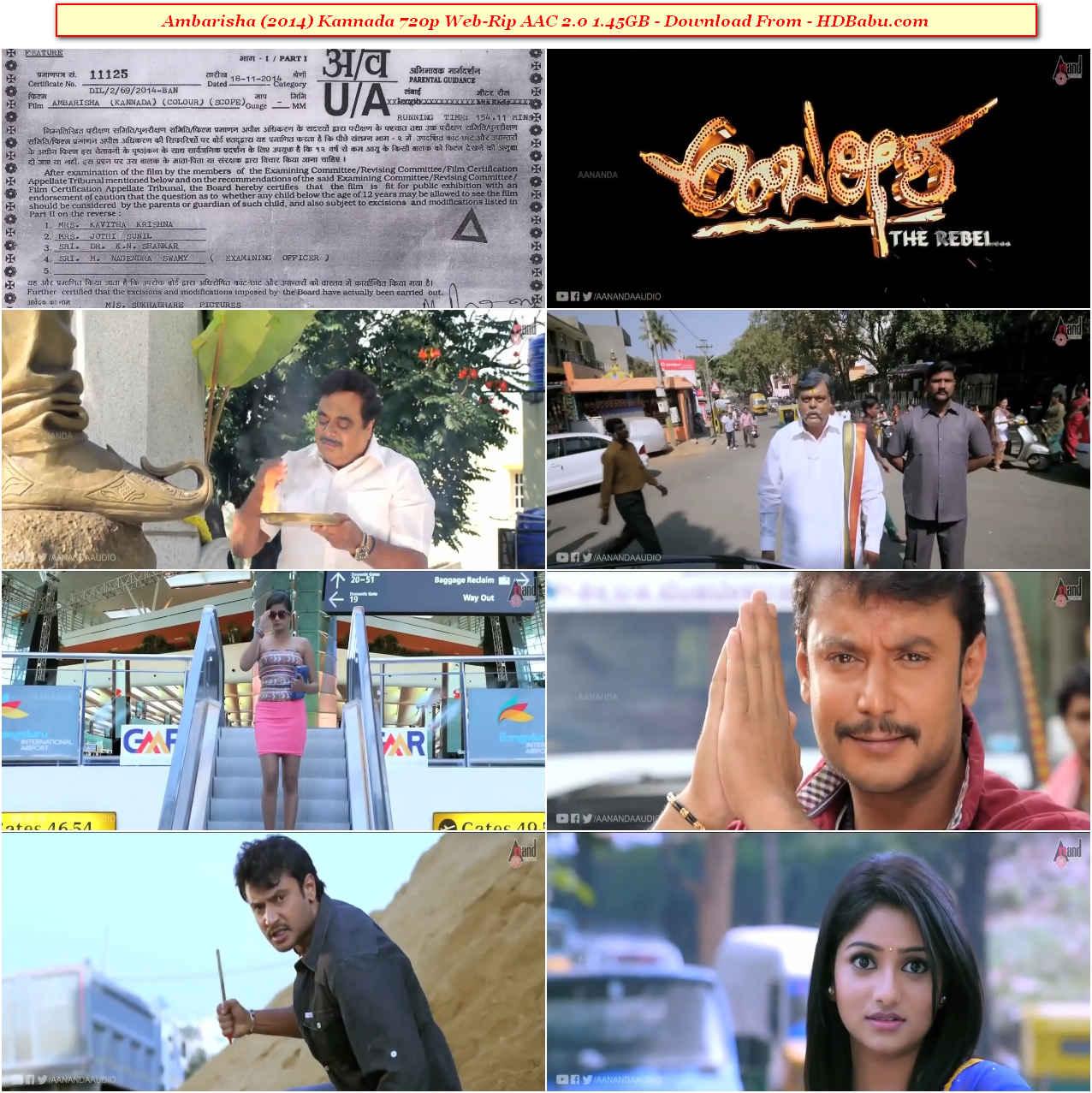 Ambareesha Movie Download
