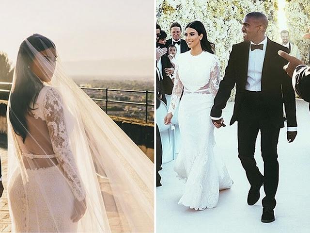 vestido de noiva kim kardashian