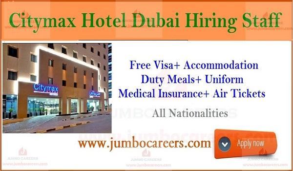 Landmark Group Citymax Hotels Jobs in UAE,  Hotel jobs in Dubai,