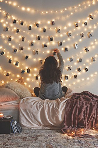 decorate with fairy lights on Amazon