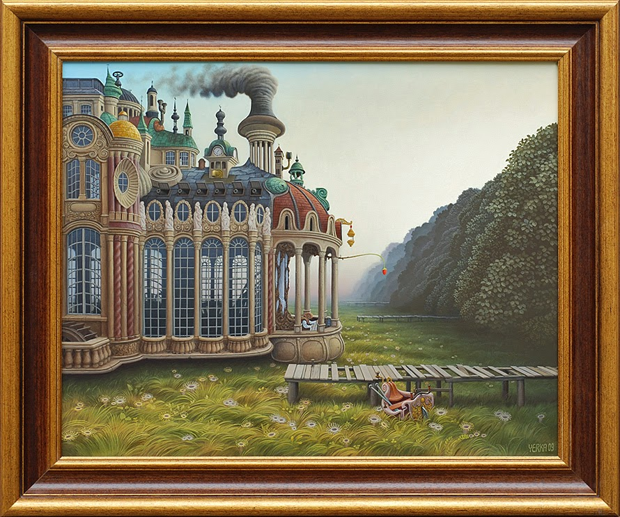 03-Barocco-2009-Jacek-Yerka-Surreal-Paintings-Parallel-Universes-www-designstack-co
