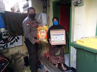 Bansos Kapolres Pelabuhan Makassar Sasar Warga Kelurahan Malimongan