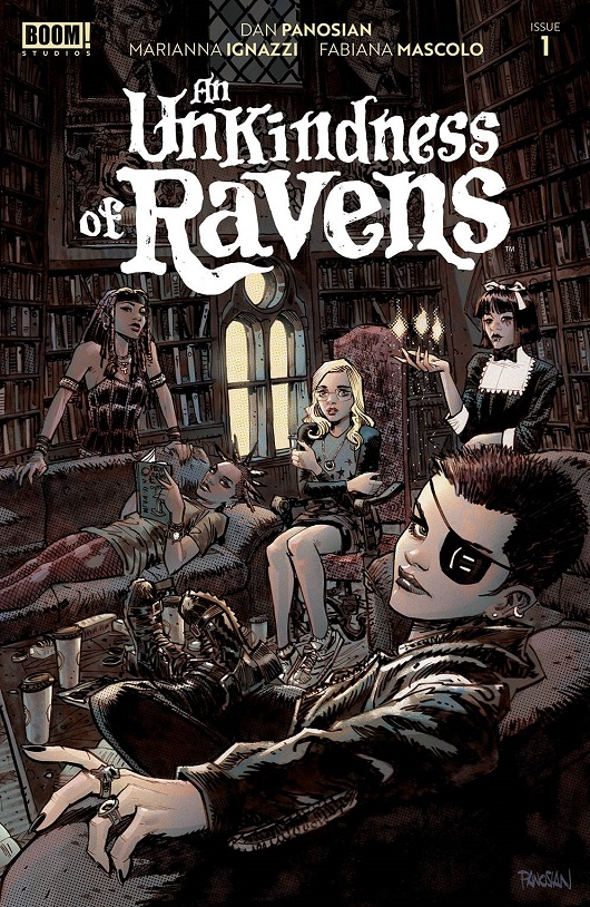 Cover of Unkindness of Ravens #1
