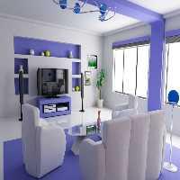 Play FunEscapeGames-Light Blue Living Room Escape