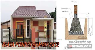 biaya pondasi rumah ukuran 6x12