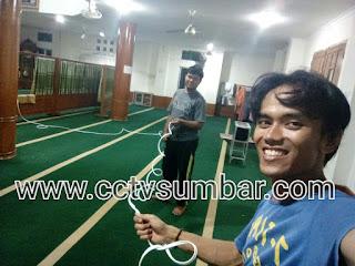 Instalasi & Dokumentasi Pada MASJID ASRA AL BAKRIE - Padang