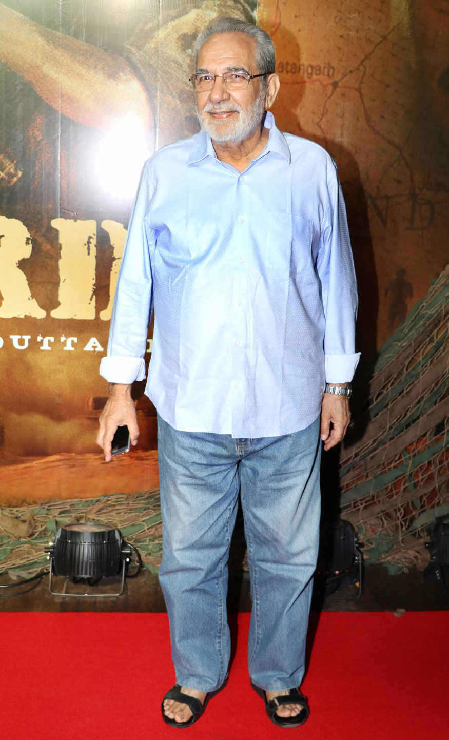 Sudesh Berry and Kulbhushan Kharbanda at Border Movie 20 Year Completion Party