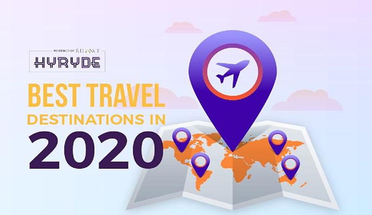 Best Travel Destinations in 2020 #infographic