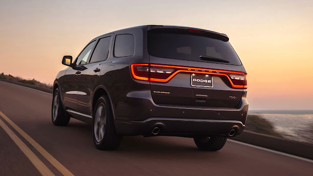 The New 2014 Dodge Durango rear