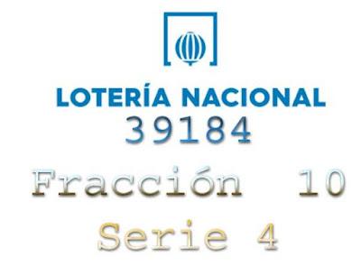 premio especial del sorteo de loteria nacional de hoy