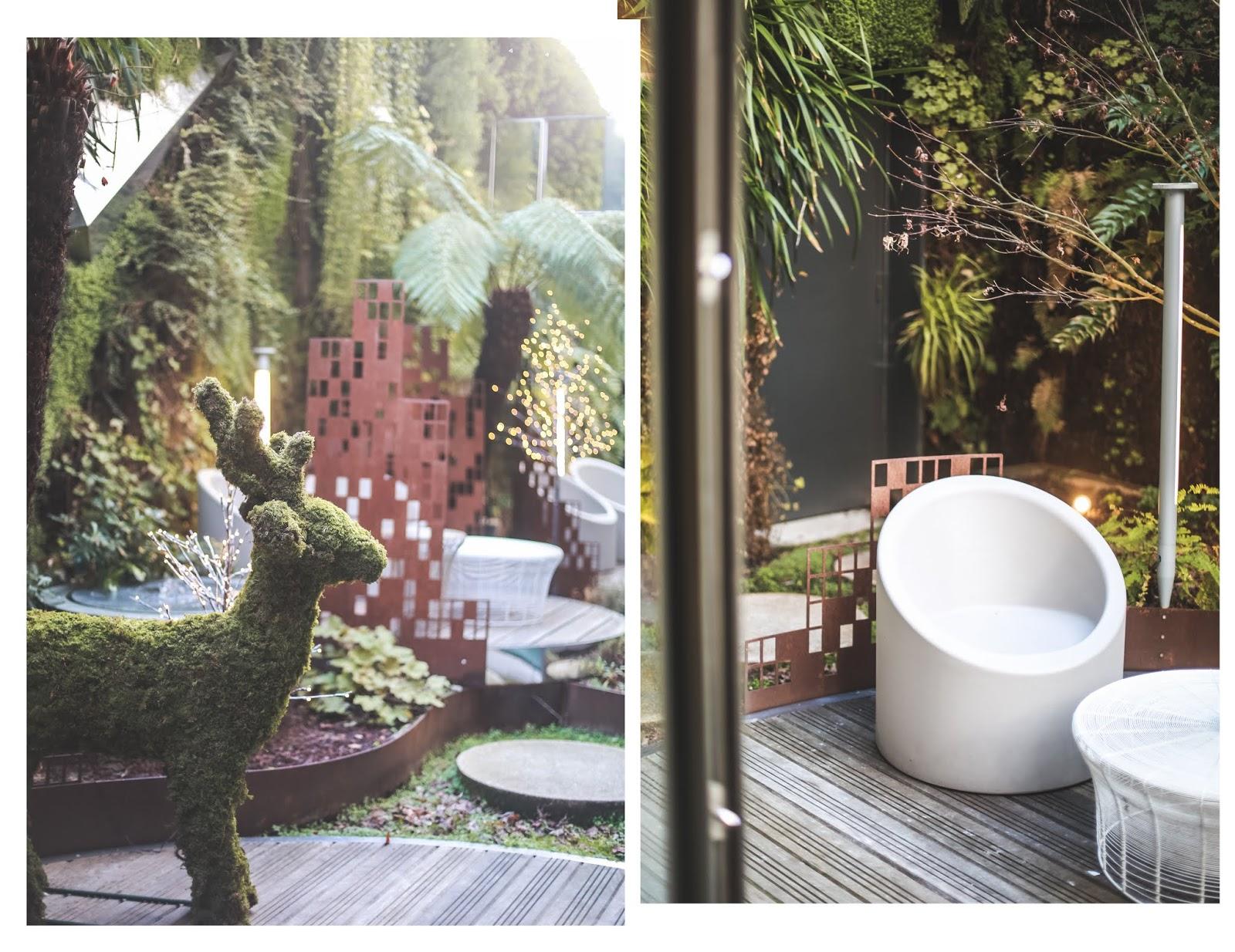 hôtel le Saint Antoine Best Western jardin d'hiver