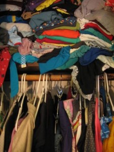 Closets Do You Have Piles Of Clutter Shoes And Clothes Hiding In Your Closet Care Jammed Onto The Rods It May Work Just Fine For
