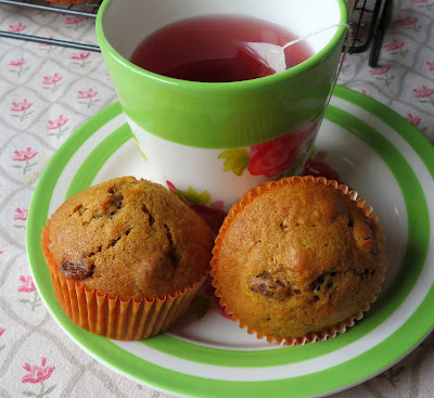Melt in Your Mouth Pumpkin Muffins
