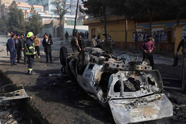 Roadside bomb kills 3 in Afghan capital