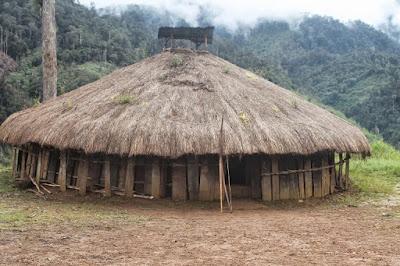 Desain Rumah Adat Papua