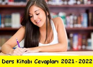 Ders Kitabı Cevapları 2021-2022