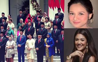 5 Pesona Kecantikan Istri - Istri Menteri Kabinet Indonesia Maju Jokowi-Ma'ruf